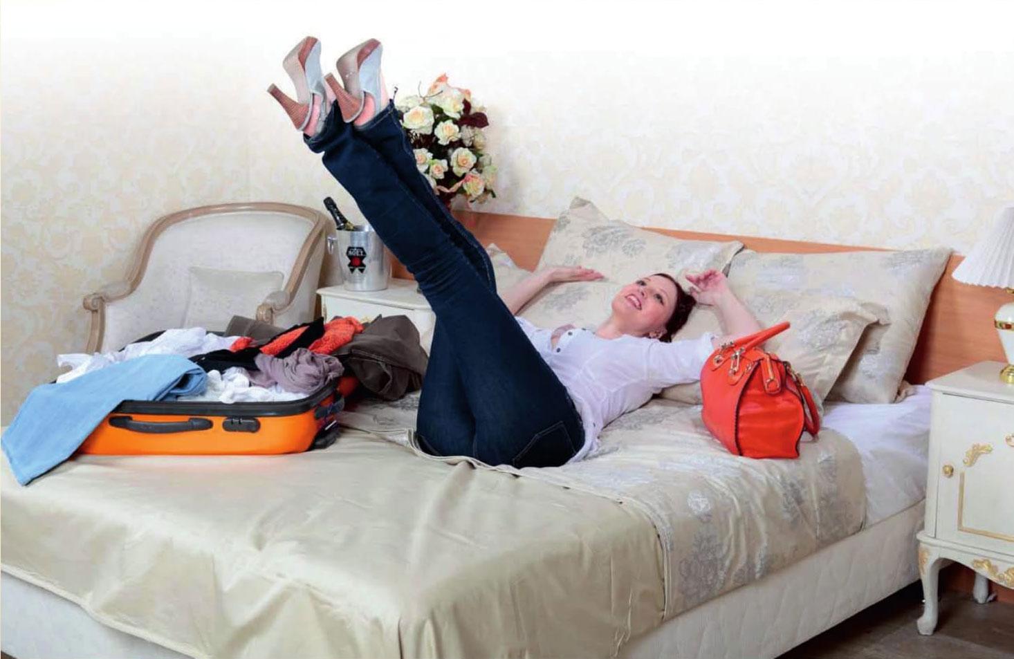 матрасы, кровати и подушки в отеле
